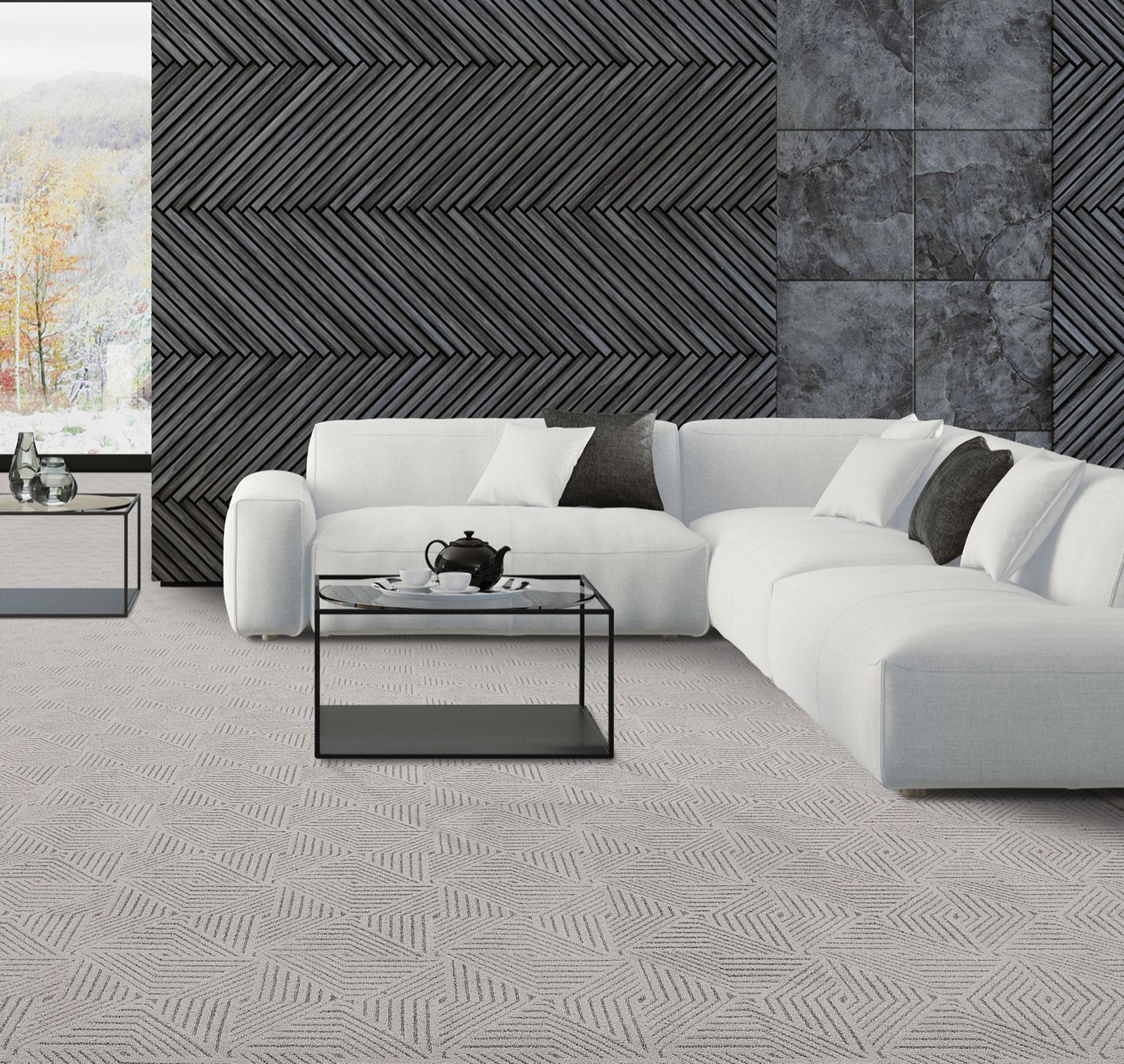 Living room carpet design | Roberts Carpet & Fine Floors