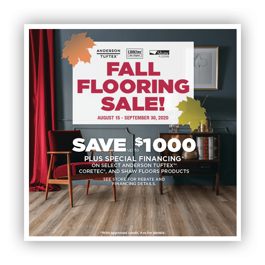 shaw Fall Flooring Sale | Roberts Carpet & Fine Floors