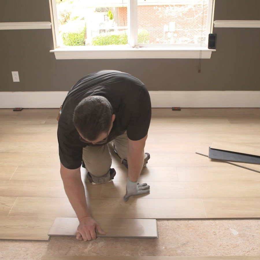 Floor installation | Roberts Carpet & Fine Floors
