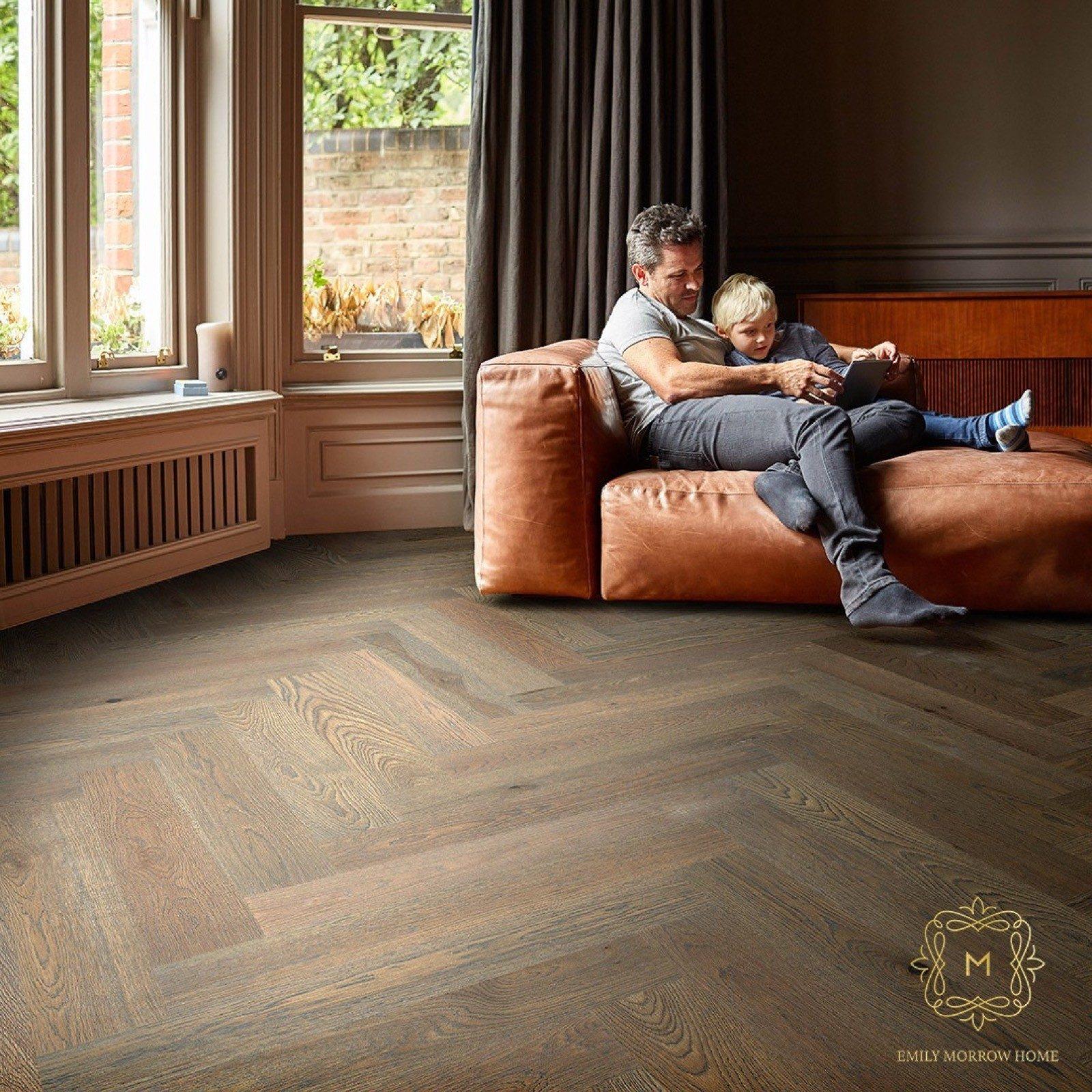 Herringbone hardwood flooring   Roberts Carpet & Fine Floors