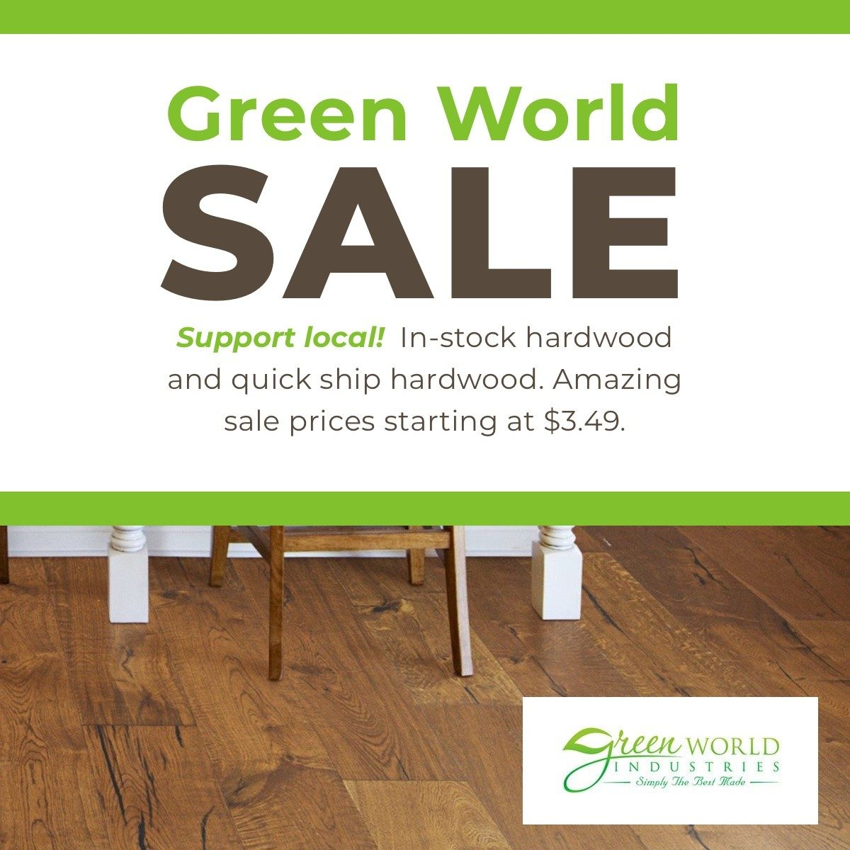 Green World Sale