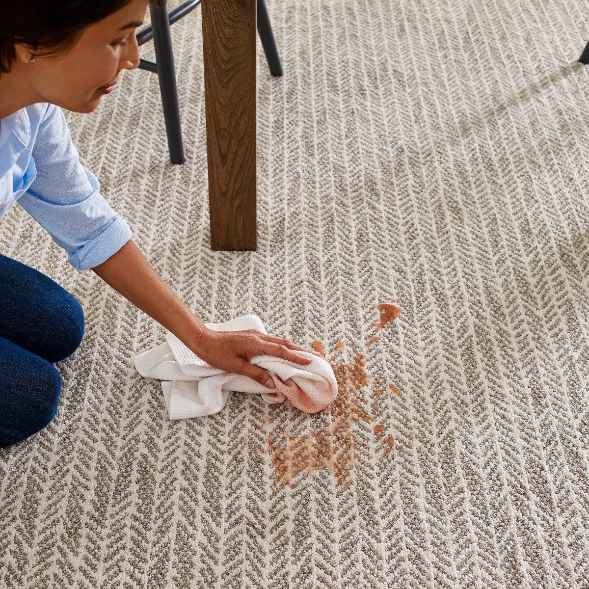 Stain cleaning tips in The Woodlands, TX | Roberts Carpet & Fine Floors