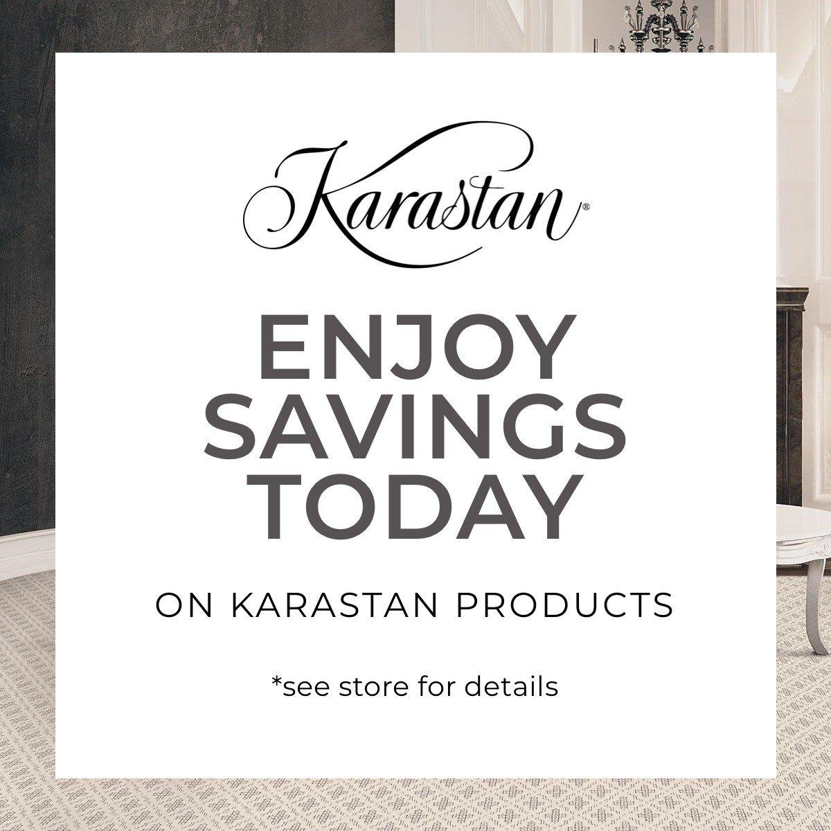 Karastan - Enjoy Savings Today