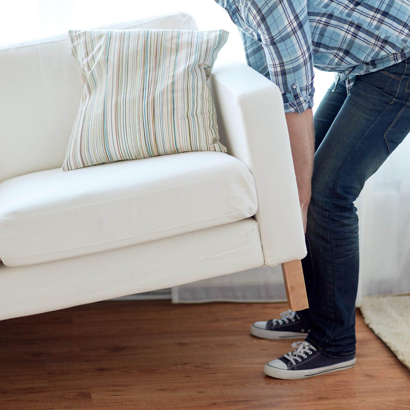 Moving furniture | Roberts Carpet & Fine Floors